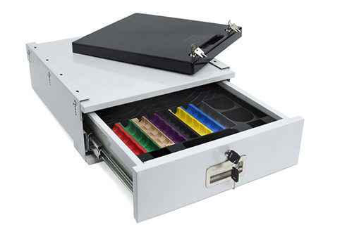 SS-CCD01-COMP Light Duty Cash Drawer with Mounting Bracket