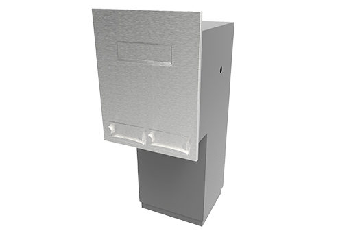 SS-DP-W-02 Rear Opening Deposit Box