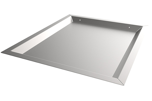 SS-PTU34-SS Shallow Pass Through Tray