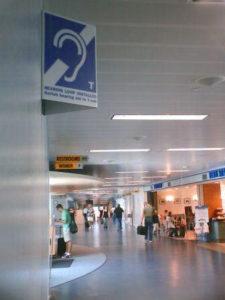 airport hearing loop